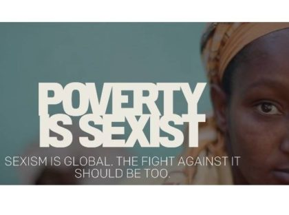 Poverty is Sexist Event