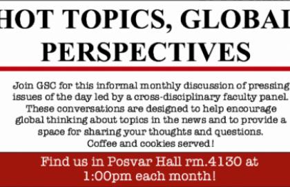Hot Topics, Global Perspectives