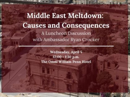 Middle East Meltdown - Causes and Consequences