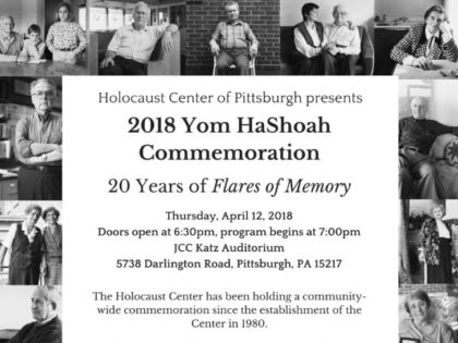 Yom HaShoah Commemoration