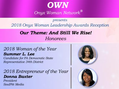 Onyx Woman Magazine Leadership Awards Reception
