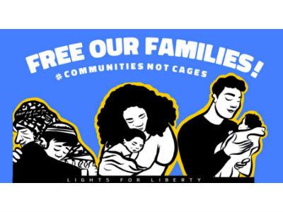 Lights for Liberty Vigil: Shut Down the Berks Detention Center!