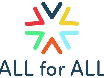 All for All logo