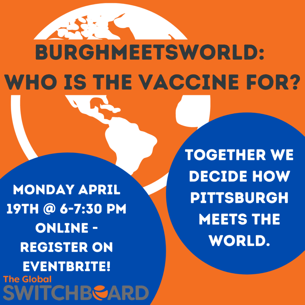 Burgh Meets World Event Logo